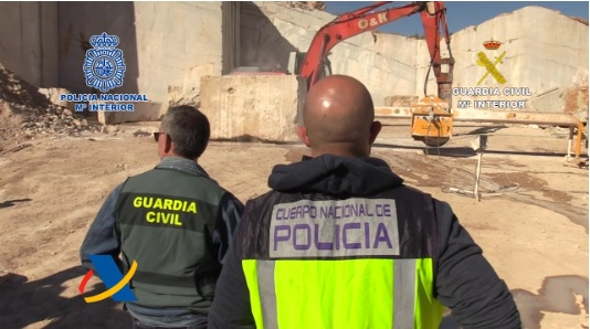 policia marmol