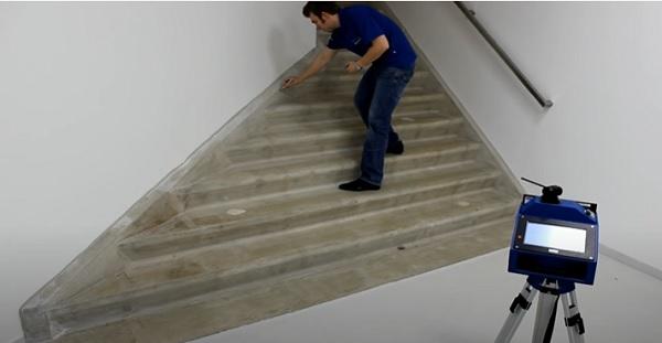 medicion escaleras