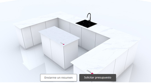 cosentino kitchen3D