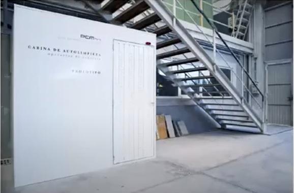 cabina autlimpiado