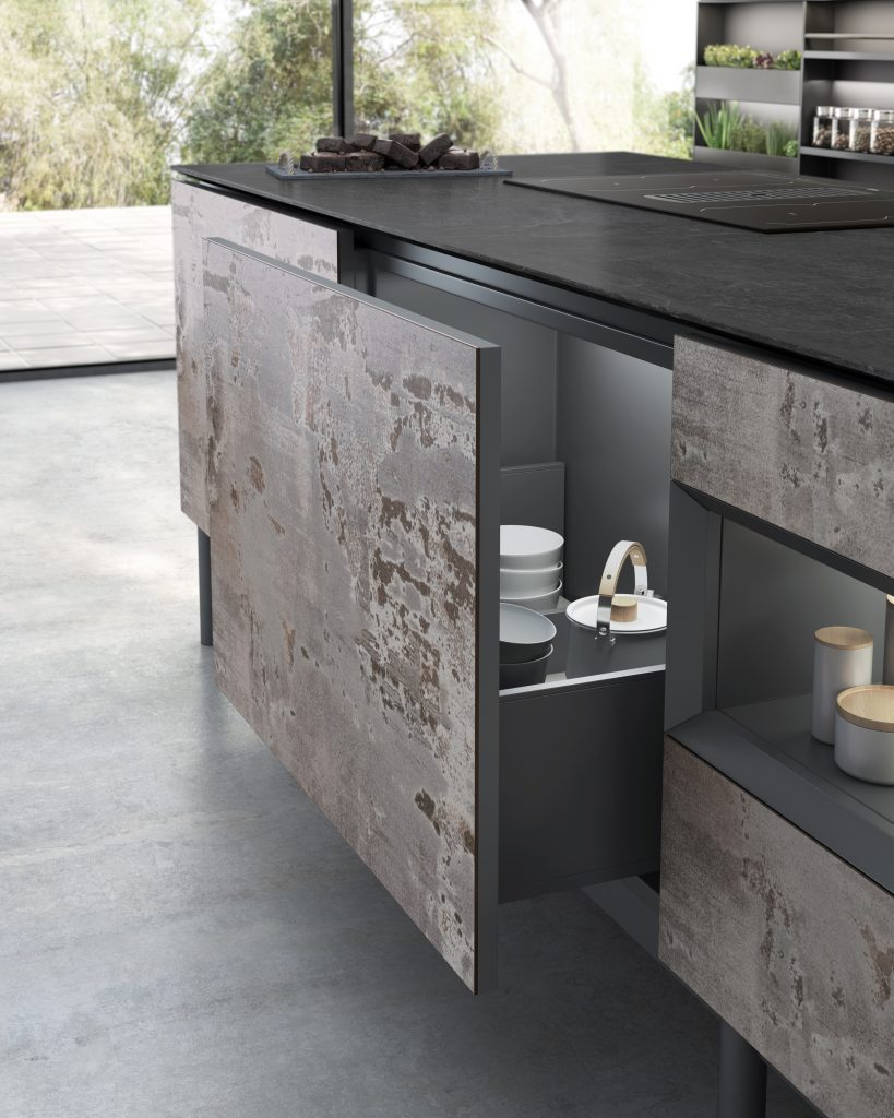 1 Dekton Kitchen - Trilium Cupboards