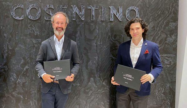 Diego Escario y Julio Touza en Cosentino City Madrid