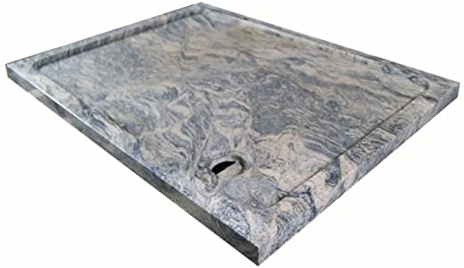 plata de ducha piedra