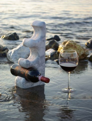 botellero piedra