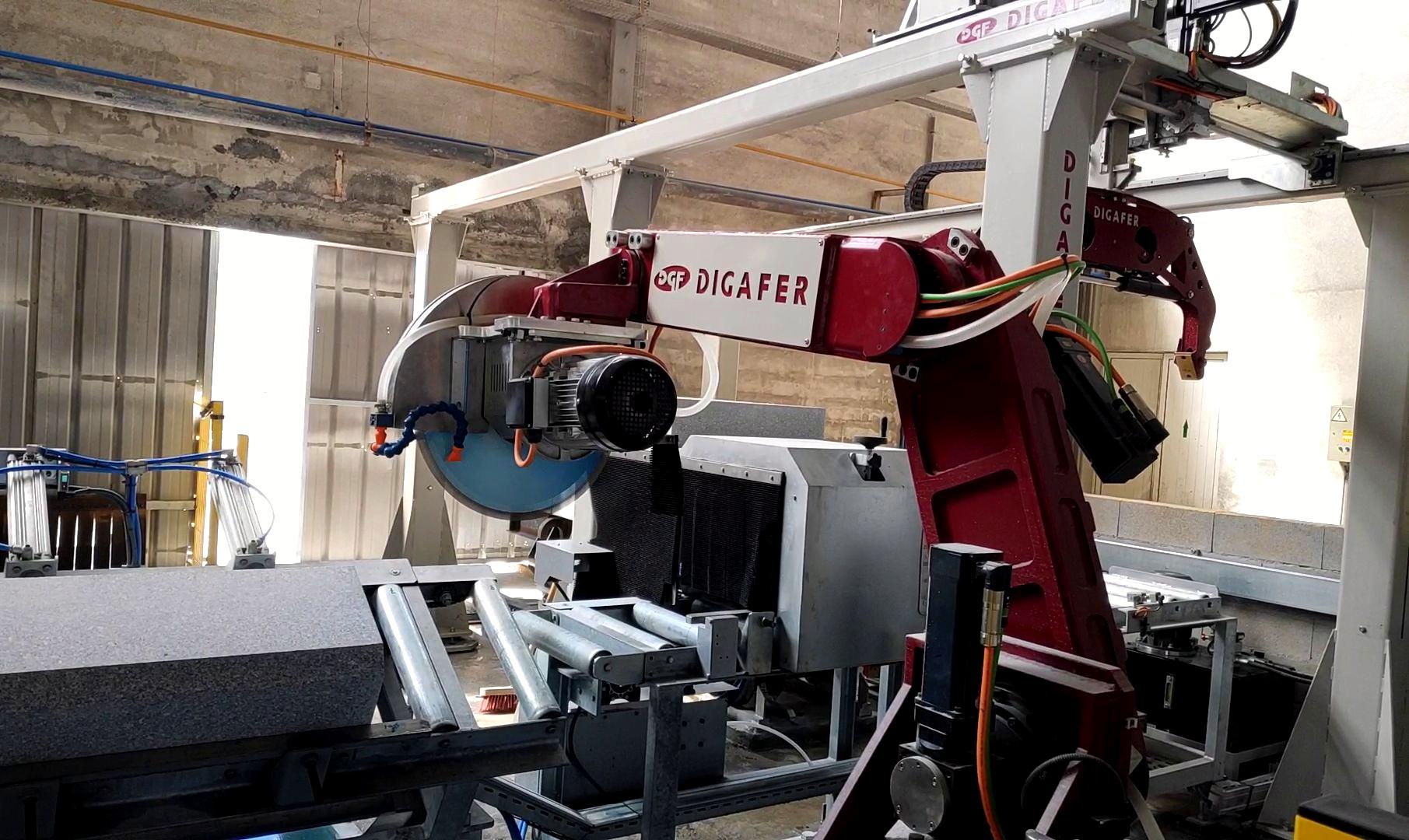 Robot corte y boleado DIGAFER