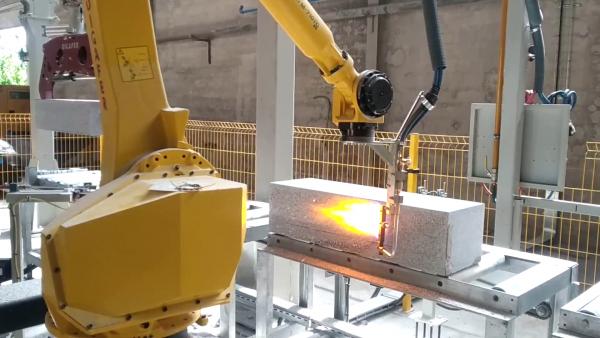 Robot flameado DIGAFER