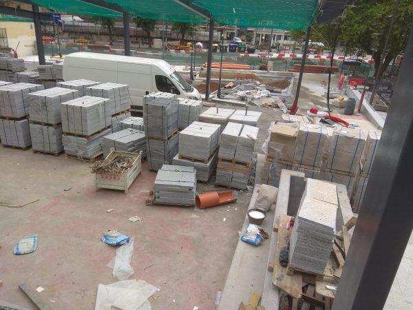 obras plaza san pedro