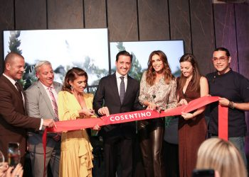Grand Opening of Cosentino Chicago City Center with Fashion Icon Cindy Crawford