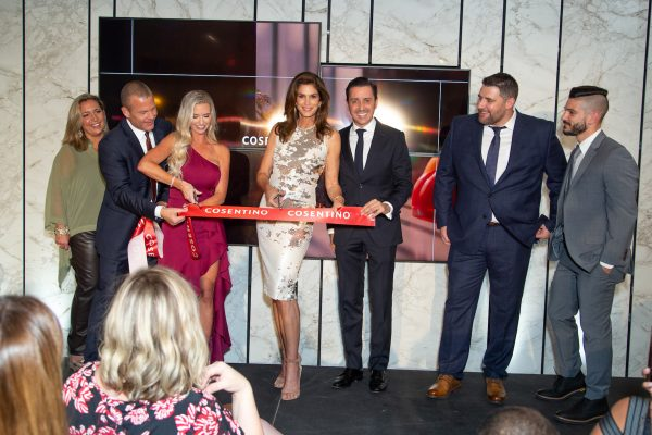[PRIVATE FOR APPROVAL] Grand Opening of Cosentino Atlanta City Center with Fashion Icon Cindy Crawford